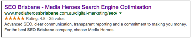 On Page SEO - SERPS
