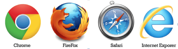 Different web browser icons - web design & development