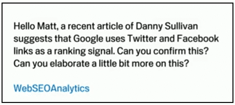 How Important Are Social Signals - What Google Says